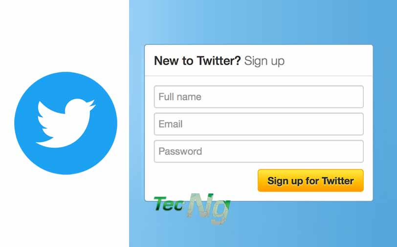Twitter Sign Up - How to Make New Twitter Account | Twitter Account Sign up