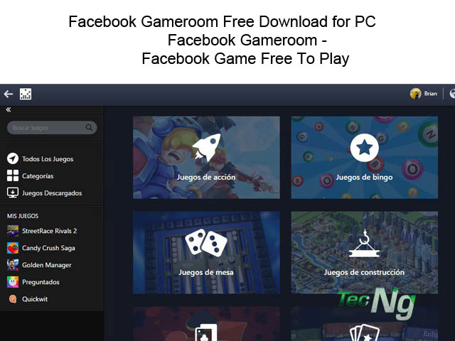 Facebook Gameroom Free Download for PC - Facebook Gameroom | Facebook Game Free To Play