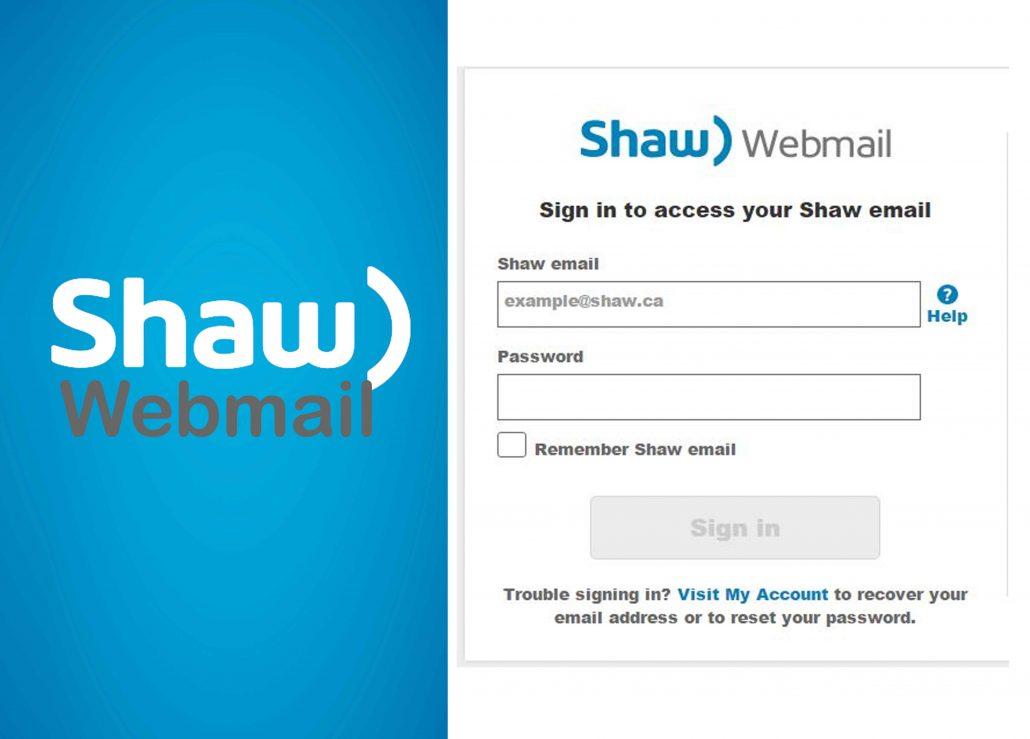 Shaw Webmail Login - How to Login to Shaw Webmail