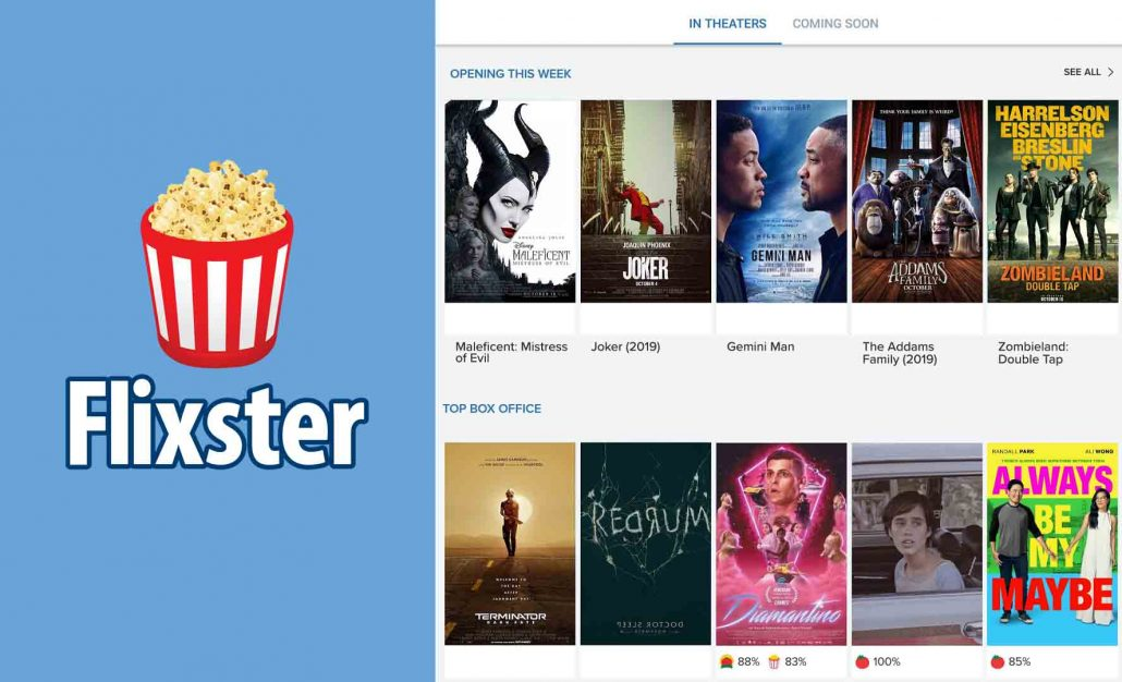 Flixster - Movies by Flixster, with Rotten Tomatoes