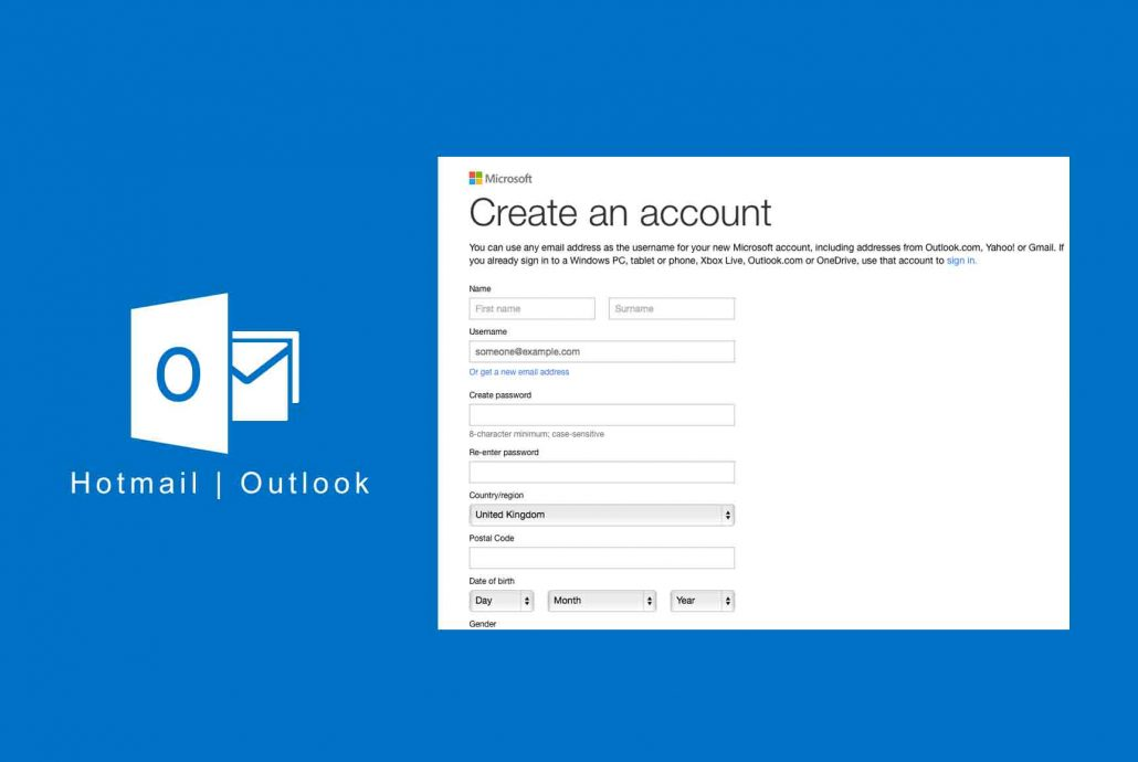 Hotmail New Account -How to Create New Hotmail Account